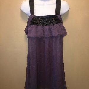 Song of Love plum dress